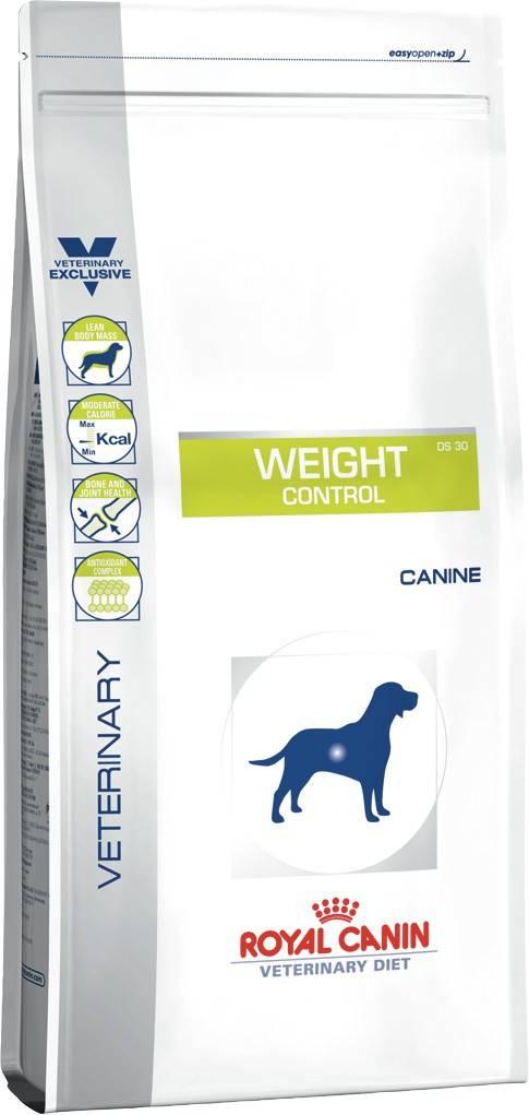 ROYAL CANIN WEIGHT CONTROL CANINE – лечебный сухой корм для собак с избыточным весом