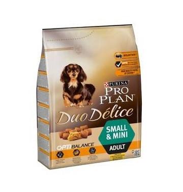 PURINA PRO PLAN DUO DELICE ADULT SMALL & MINI BEEF – сухий корм з яловичиною для дорослих собак малих і мініатюрних порід