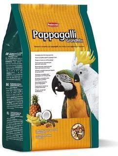 Padovan GrandMix Pappagalli – корм для крупных попугаев