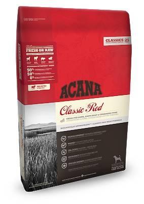 ACANA Classic Red – сухой корм с мясом для собак