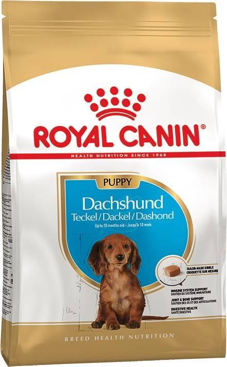 ROYAL CANIN DACHSHUND PUPPY – сухой корм для щенков породы такса