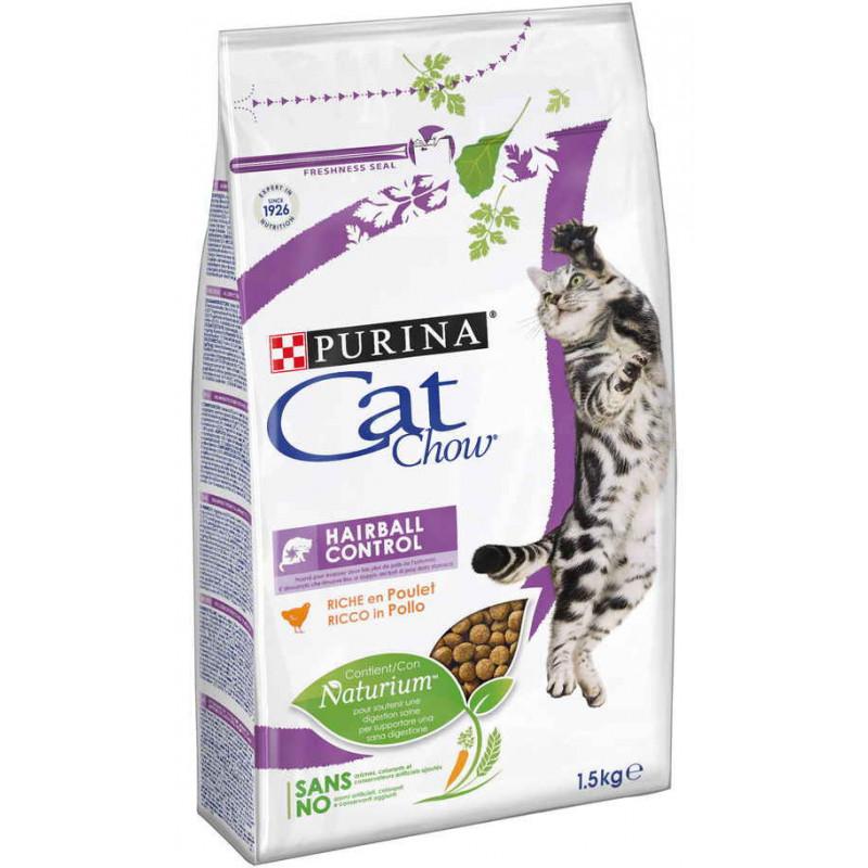 CAT CHOW SPECIAL CARE HAIRBALL CONTROL– сухой корм для котов для выведения комков шерсти с желудка