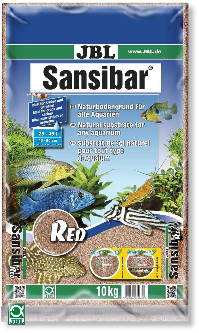 JBL Sansibar Red – червоний декоративний пісок для акваріума і акватераріума