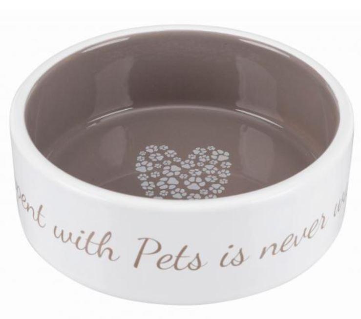 """Trixie  керамічна миска """"Pet's Home"""" для собак, 0.3 л"""