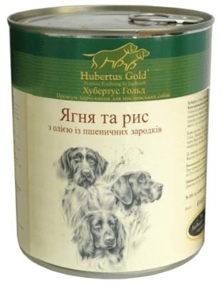 HUBERTUS GOLD влажный корм  с ягненком и рисом для взрослых собак