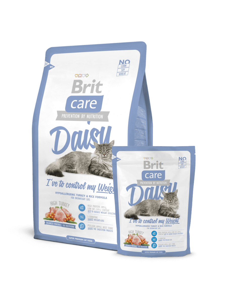 BRIT CARE CAT DAISY I HAVE TO CONTROL MY WEIGHT – сухой корм для кошек с избыточным весом