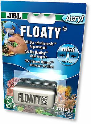 JBL Floaty Acryl/glass – плавающий магнитный скребок для чистки акриловых аквариумов с толщиной стенок до 4 мм