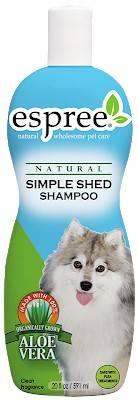 ESPREE Simple Shed Shampoo – шампунь під час линьки у собак і котів