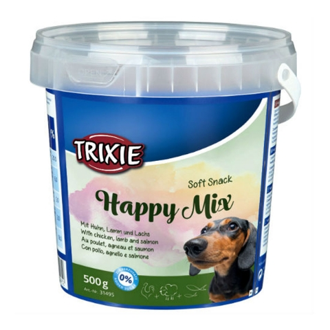 Trixie Trainer Snack Happy Mix –ласощі з куркою, лососем і ягням для собак