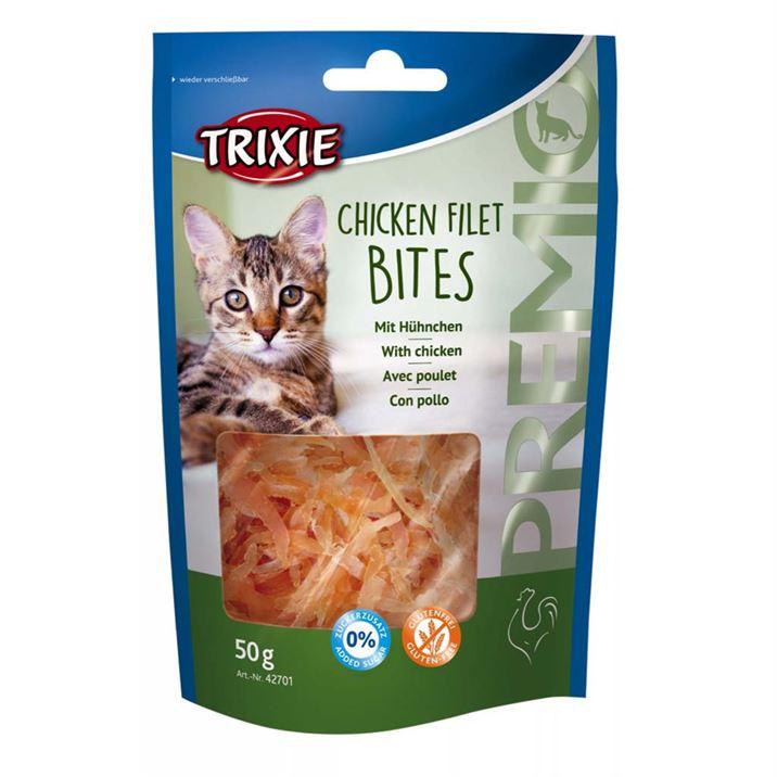 Trixie Premio Chicken Filet Bites – ласощі для котів у вигляді сушеного філе