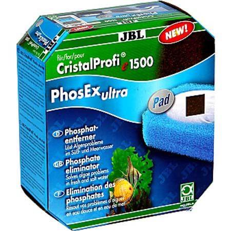 JBL PhosEx ultra Pad CP e – комплект губок і фільтруючий матеріал до фільтрів СР e1500, e1501