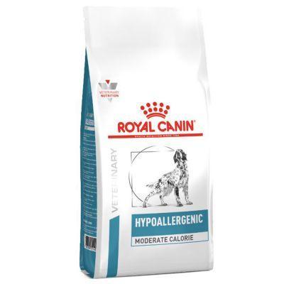ROYAL CANIN HYPOALLERGENIC MODERATE CALORIE – лечебный сухой корм для собак с пищевой аллергией или непереносимостью