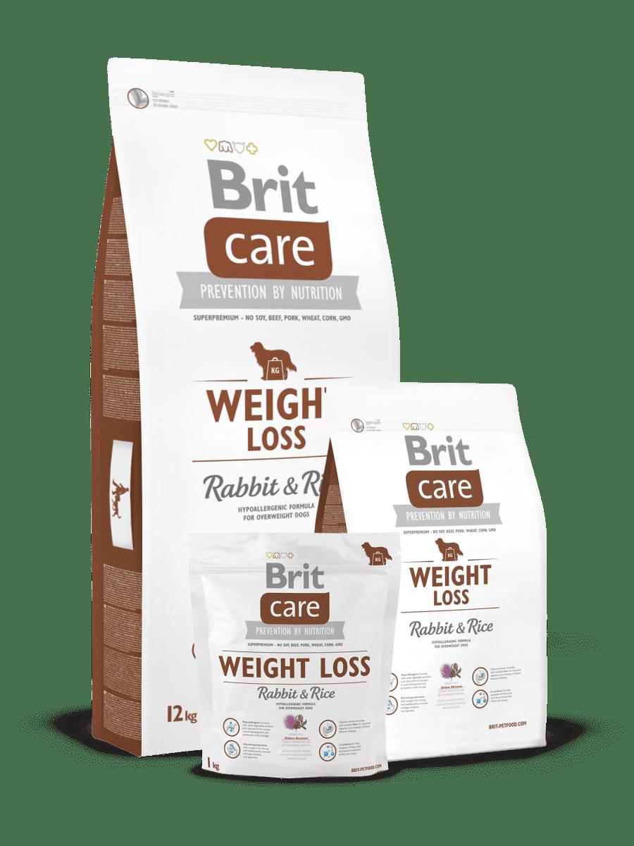 BRIT CARE WEIGHT LOSS RABBIT & RICE – сухий корм для дорослих собак усіх порід з надмірною вагою