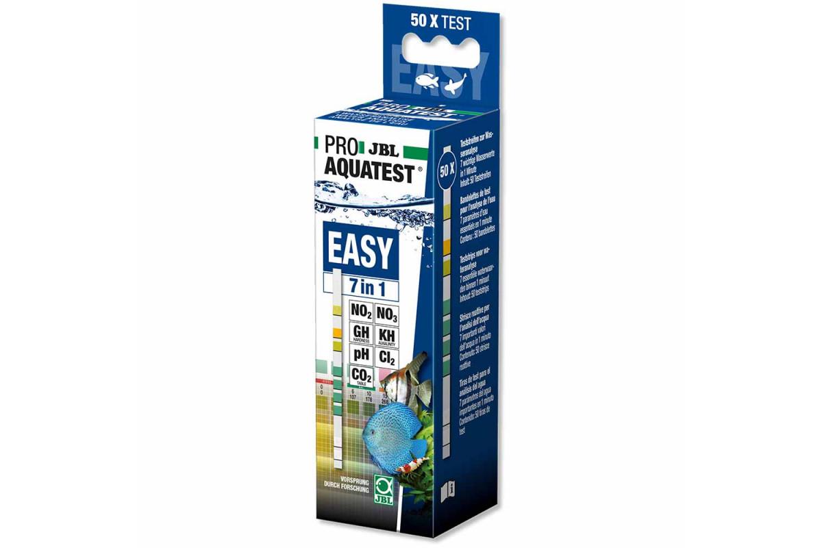 JBL Proaquatest Easy 7in1 – тест-смужки для швидкого аналізу акваріумний води