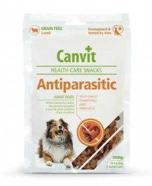 CANVIT ANTIPARASITIC – полувлажные витаминизированные лакомства для взрослых собак