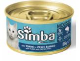 Simba Cat Mousse - мус із тунця та морської риби для дорослих котів
