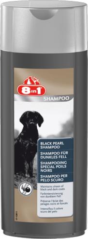8in1 Perfect Coat Black Pearl Shampoo – шампунь для собак темного окраса