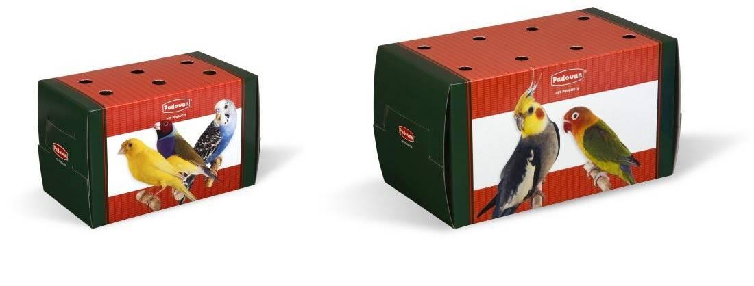 Padovan Transportino grande – коробка для транспортування середніх гризунів або птахів