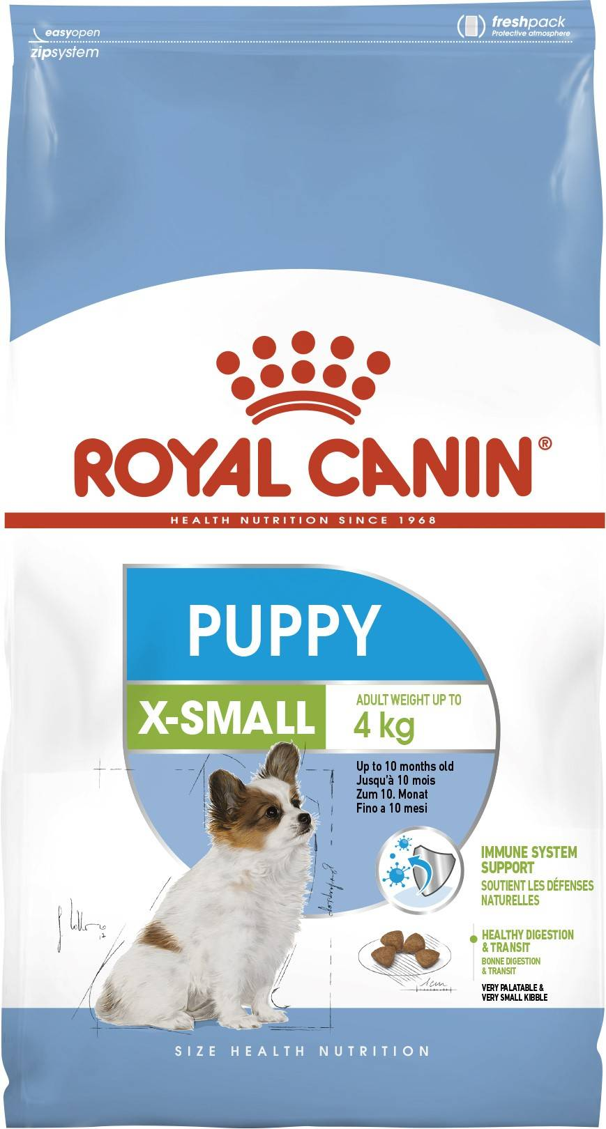 ROYAL CANIN X-SMALL PUPPY – сухой корм для щенков миниатюрных пород