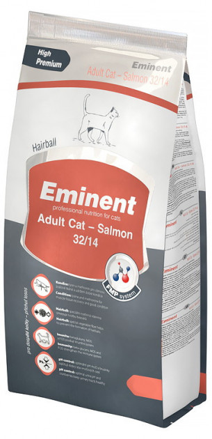 Eminent ADULT CAT SALMON – сухой корм для взрослых кошек с лососем
