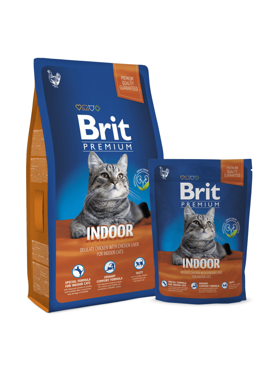 BRIT PREMIUM CAT INDOOR – сухой корм для домашних кошек