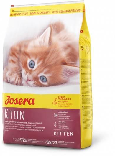JOSERA KITTEN – сухий корм для кошенят і кішок в період вагітності і лактації
