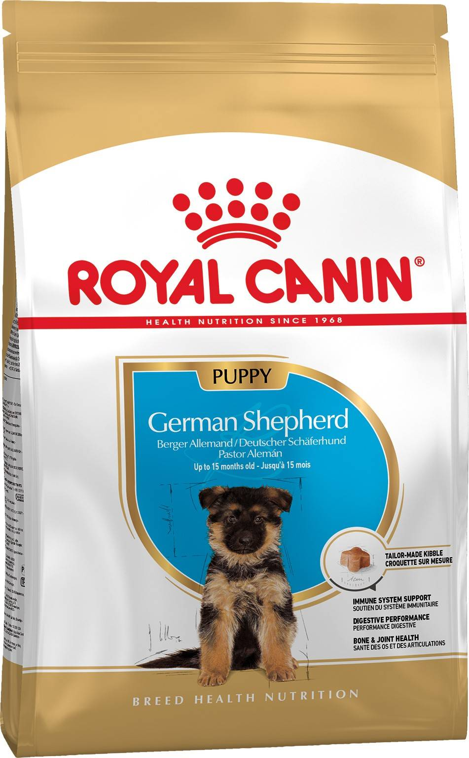 ROYAL CANIN GERMAN SHEPHERD PUPPY – сухой корм для щенков породы немецкая овчарка