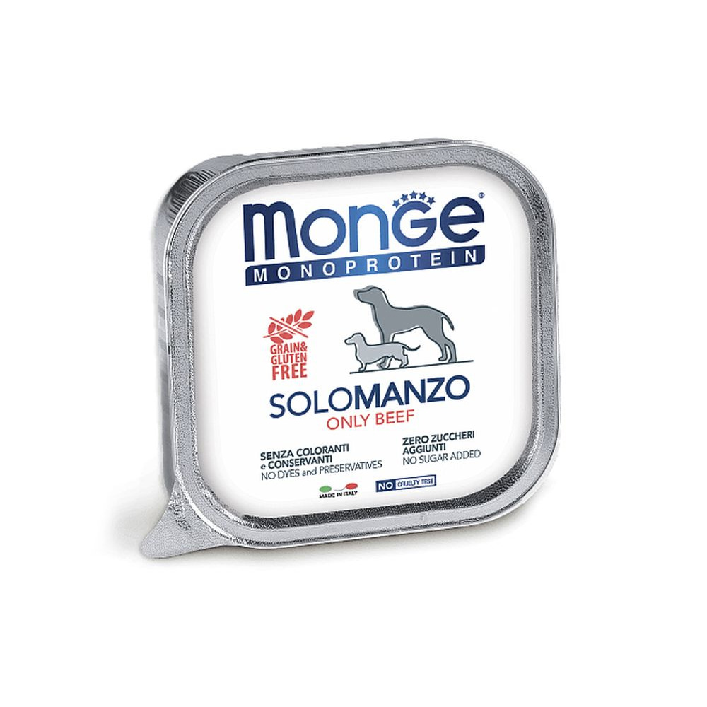 Monge Solo Polo консерви з яловичиною для собак
