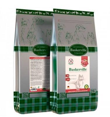 BASKERVILLE RIND – сухий корм з яловичиною для дорослих котів