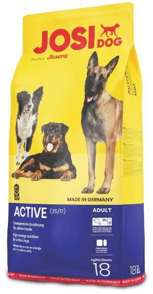 JOSIDOG ACTIVE – сухой корм для активных взрослых собак