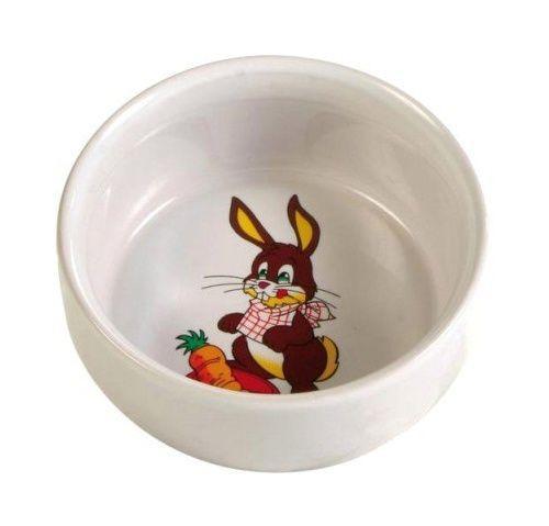 Trixie керамічна миска із малюнком для кролика