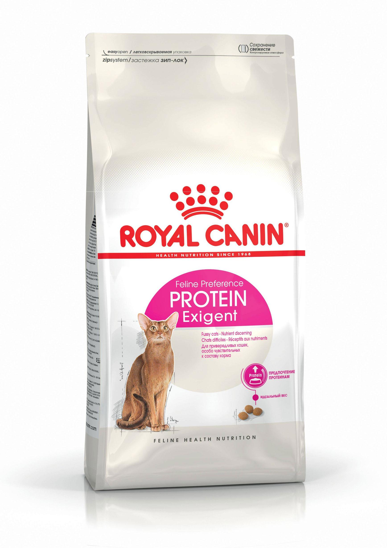 ROYAL CANIN PROTEIN EXIGENT – сухой корм для взрослых котов, привередливых к составу корма