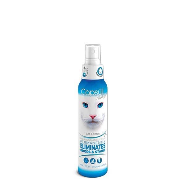 CAPSULL NEUTRALIZOR CAT&KITTEN – біоензимний засіб для видалення запаху і плям для котів