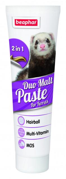 Beaphar Duo Malt Paste – мальт паста з подвійною дією для тхорів