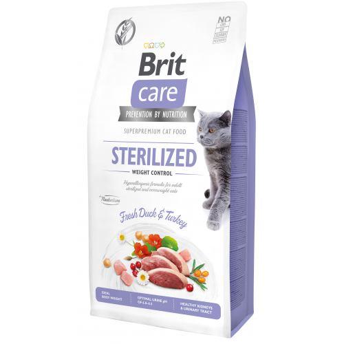 BRIT CARE CAT STERILIZED  WEIGHT CONTROL – сухий корм для стерилізованих кішок з надмірною вагою