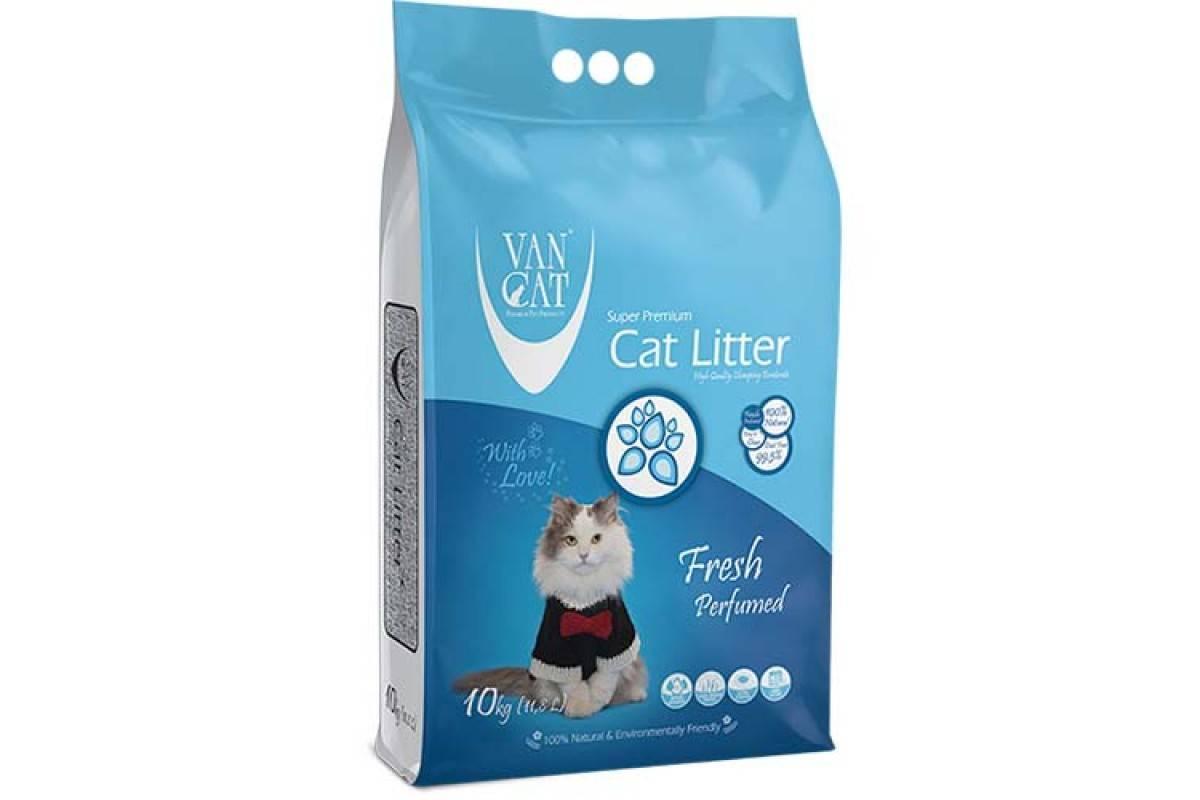 VANCAT FRESH – бентонитовый наполнитель для кошачьего туалета с ароматом свежести