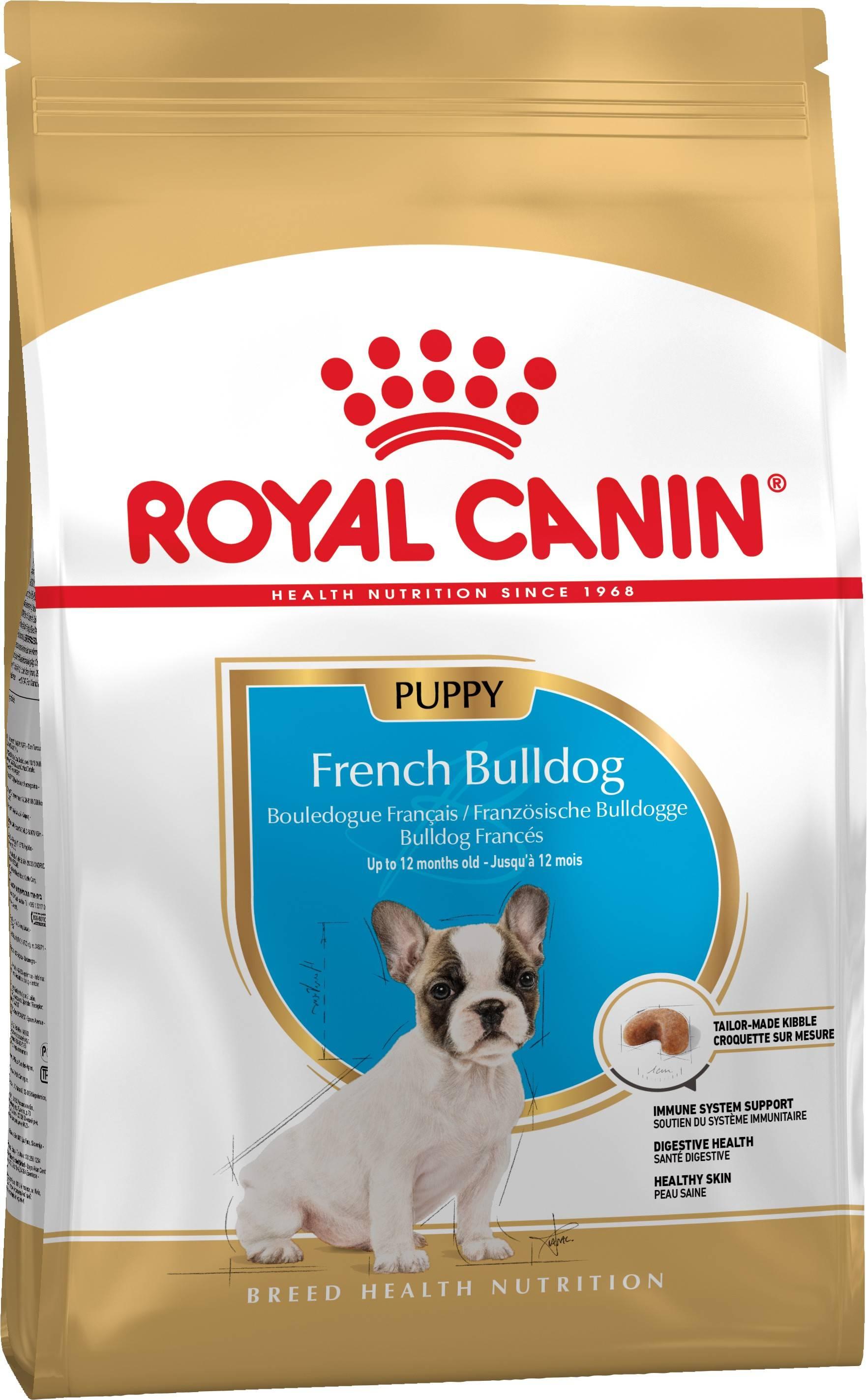 ROYAL CANIN FRENCH BULLDOG PUPPY – сухий корм для цуценят породи французький бульдог