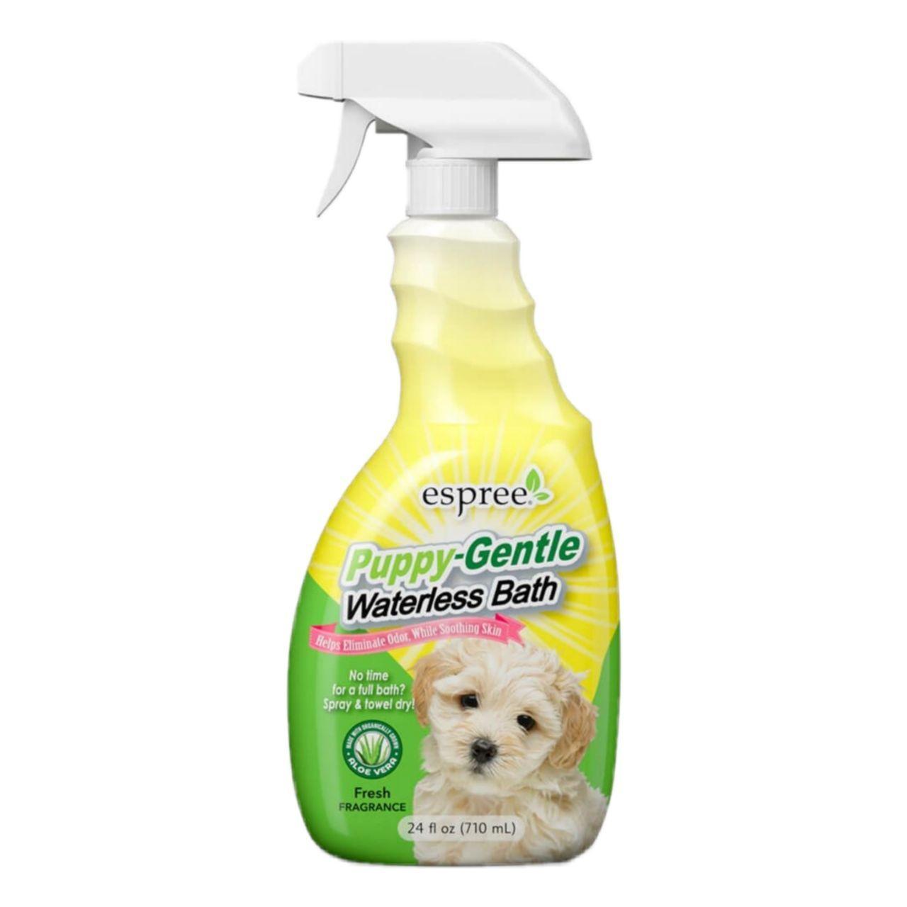 Espree Puppy Waterless Bath – спрей для експрес-очищення чутливої шкіри і шерсті цуценят