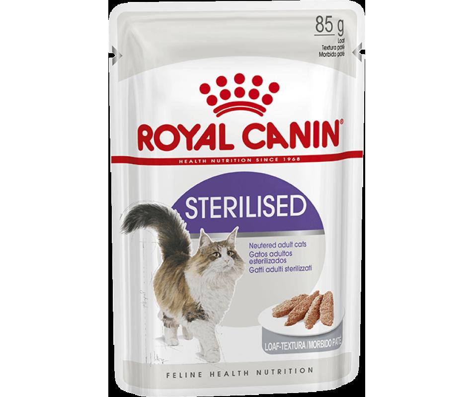 ROYAL CANIN STERILISED wet in loaf – вологий корм, паштет, для стерилізованих котів