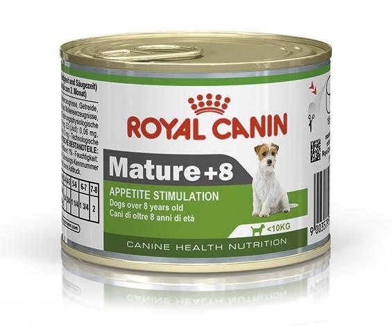 ROYAL CANIN MATURE +8 WET – влажный корм для собак мелких пород старше 8 лет