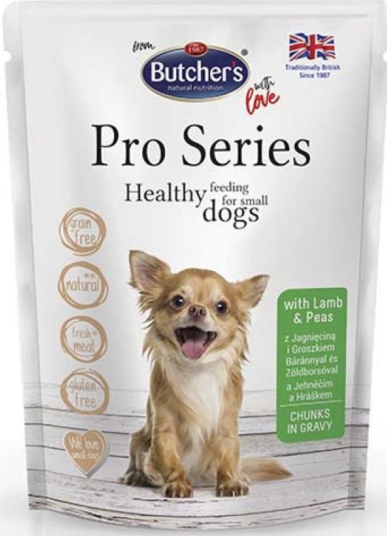 Butcher's Dog Pro консерва  з ягнятиною та горохом для собак