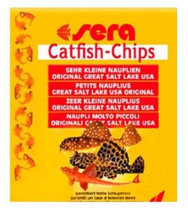Sera Catfish Chips – корм для сомиков