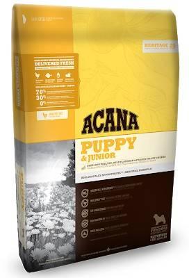 ACANA Puppy & Junior – сухой корм для щенков средних пород