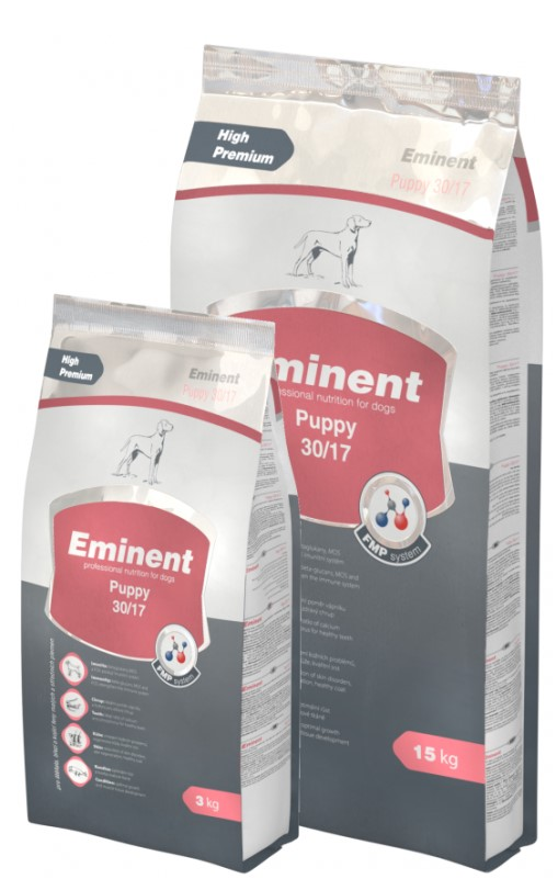 Eminent Puppy – сухой корм для щенков малых и средних пород