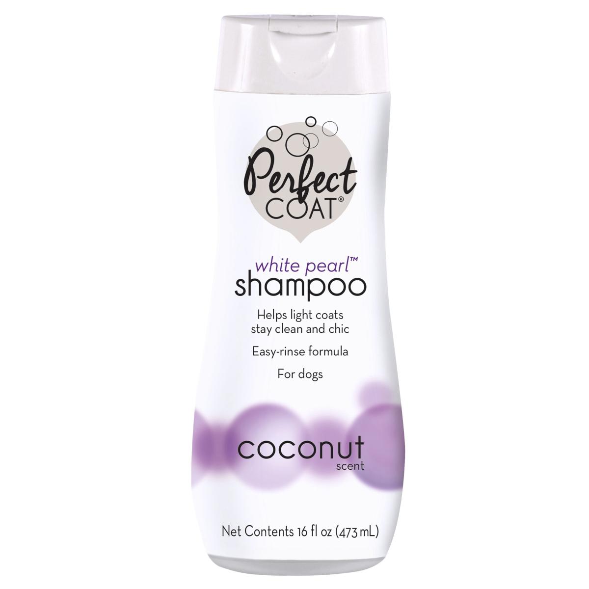 8in1 Perfect Coat White Pearl Shampoo – шампунь-кондиціонер для собак світлих забарвлень