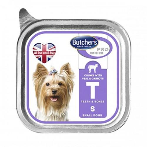 Butcher's Pro Series Small – консерва з телятиною та морквою в желе для дорослих собак малих порід