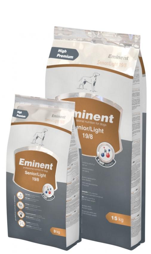 Eminent Senior Light – cухой корм для літніх і малоактивних собак з куркою