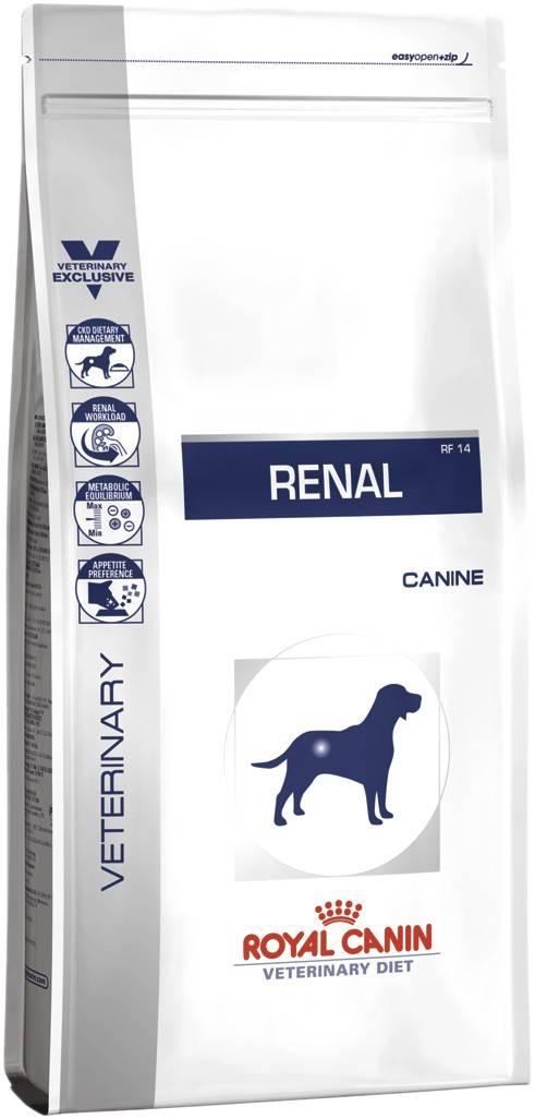 ROYAL CANIN RENAL CANINE – лечебный сухой корм для собак с почечной недостаточностью