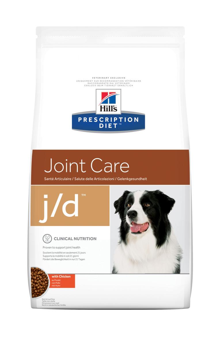 HILL'S PRESCRIPTION DIET J/D JOINT CARE – лікувальний сухий корм для собак для уповільнення розвитку артритів