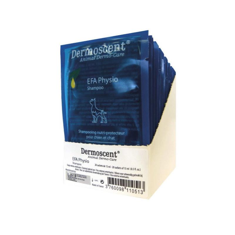 Dermoscent EFA Physio Shampoo – питательный и защитный шампунь для собак и кошек